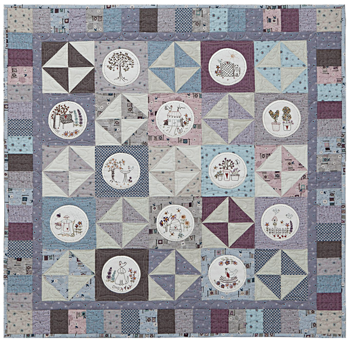 Exceptional In Full Bloom Quilters Garden Email