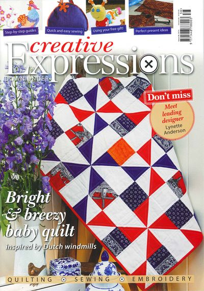 Creative expressions mag cover
