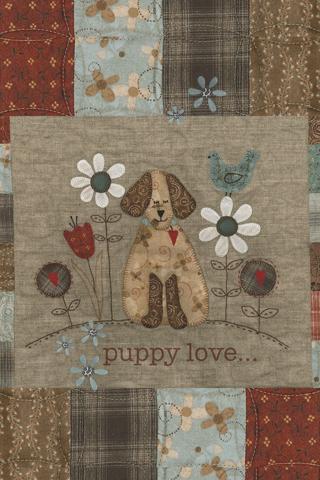Puppy Love Background