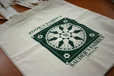 Zook fabrics bag