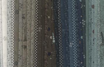 Hollyhock Cottage fabrics