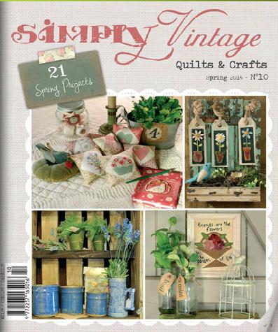 Simply vintage spring mag