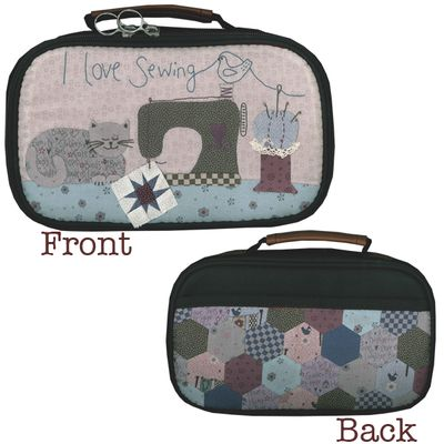 Sewing craft case