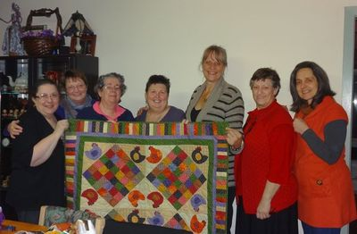 Hen quilt by Elyte1