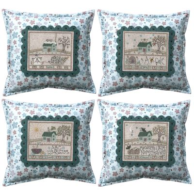 Four seasons pillows