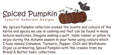 Spiced Pumpkin Words