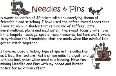 Needles and Pins Words