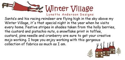 Winter Village Words