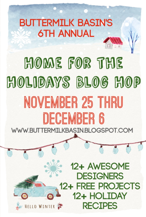Buttermilk blog hop
