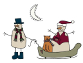 Snowmen and Sleigh-01