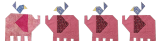 Pink-elepahnts