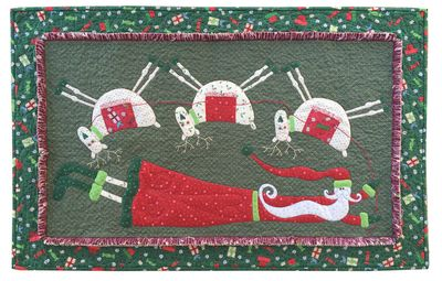 Flying Santa Festive Fun Email