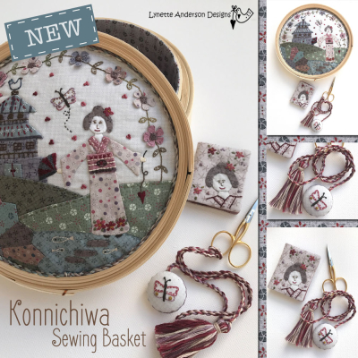 Konnichiwa Sewing Basket