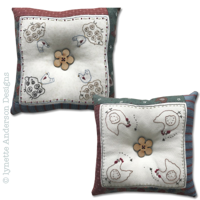 New Farmyard Pincushions