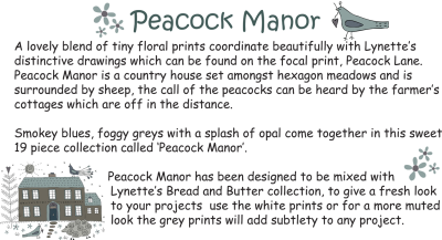 Peacock manor blurb