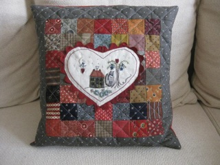 Heart and Home Pillow